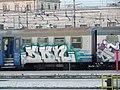 Tags on a Train in Stazione di Roma Termini - Patrick Nouhailler - panoramio.jpg
