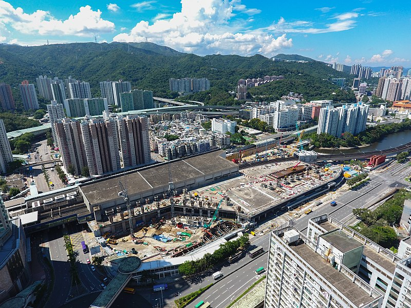 File:Tai Wai Station Property Site View 201706.jpg