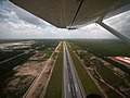 Taking off from Cancun International (5307709506).jpg