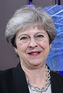 Theresa May Former Prime Minister of the United Kingdom