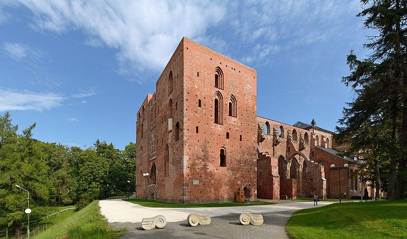 Ruins of Tartu Cathedral.