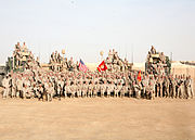 Task Force 3 24 in Al Anbar Province, Iraq, 2009
