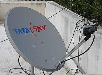 Television in India - Tata Sky Dish India