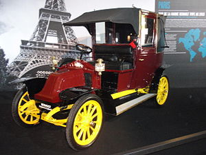 Taxicab - Paris taxis carried 6000 soldiers to the front during the First Battle of the Marne