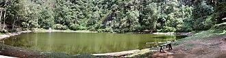 Puncak - Telaga Warna volcanic lake