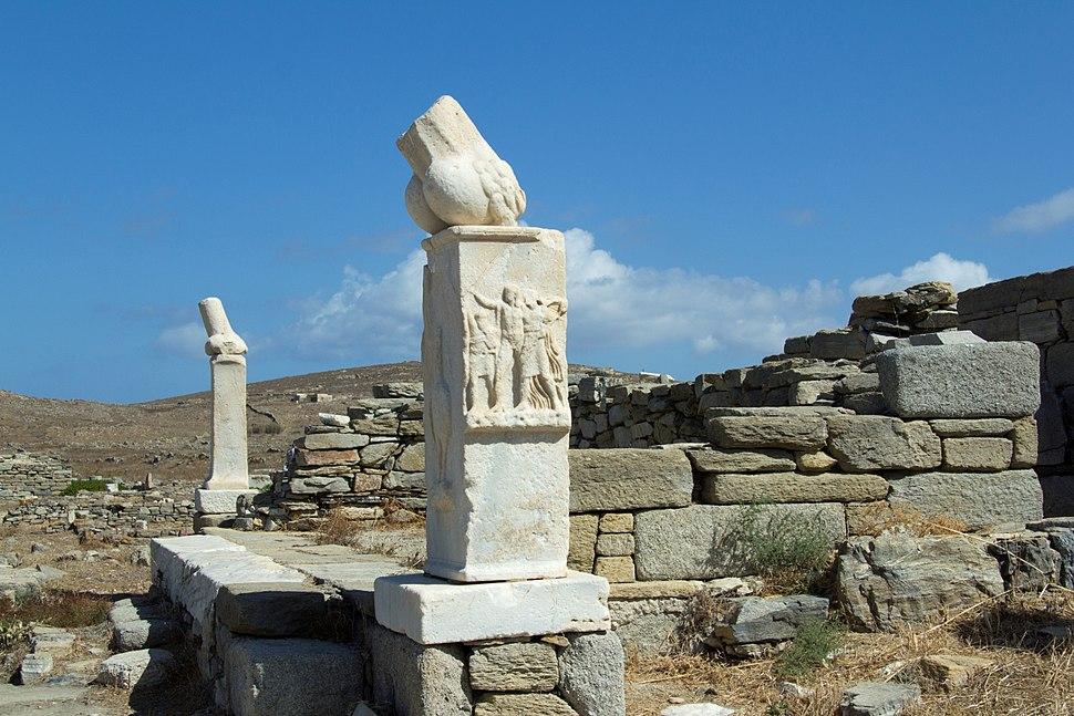 Temple Dionysus Delos Stoivadeion 130086