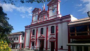 Pacho - Image: Templo Parroquial de Pacho