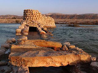 Terenah Archaeological site in Hormozgan, Iran