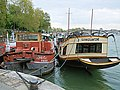 The Boats La Brigantine And DJacKoo On The Seine - Paris 2013.jpg