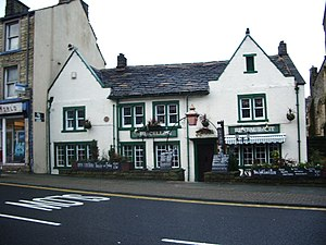 Listed buildings in Padiham - Image: The Cellar, Church Street, Padiham geograph.org.uk 661266