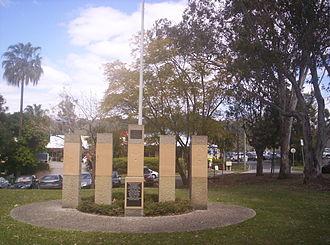 The Gap, Queensland - The Gap War memorial at Walton Bridge Reserve, 2010