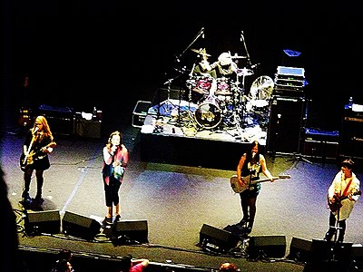 The Go-Go's performing in 2012 The Go Gos in 2012.jpg