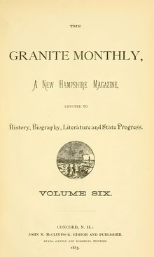 The Granite Monthly Volume 6.djvu