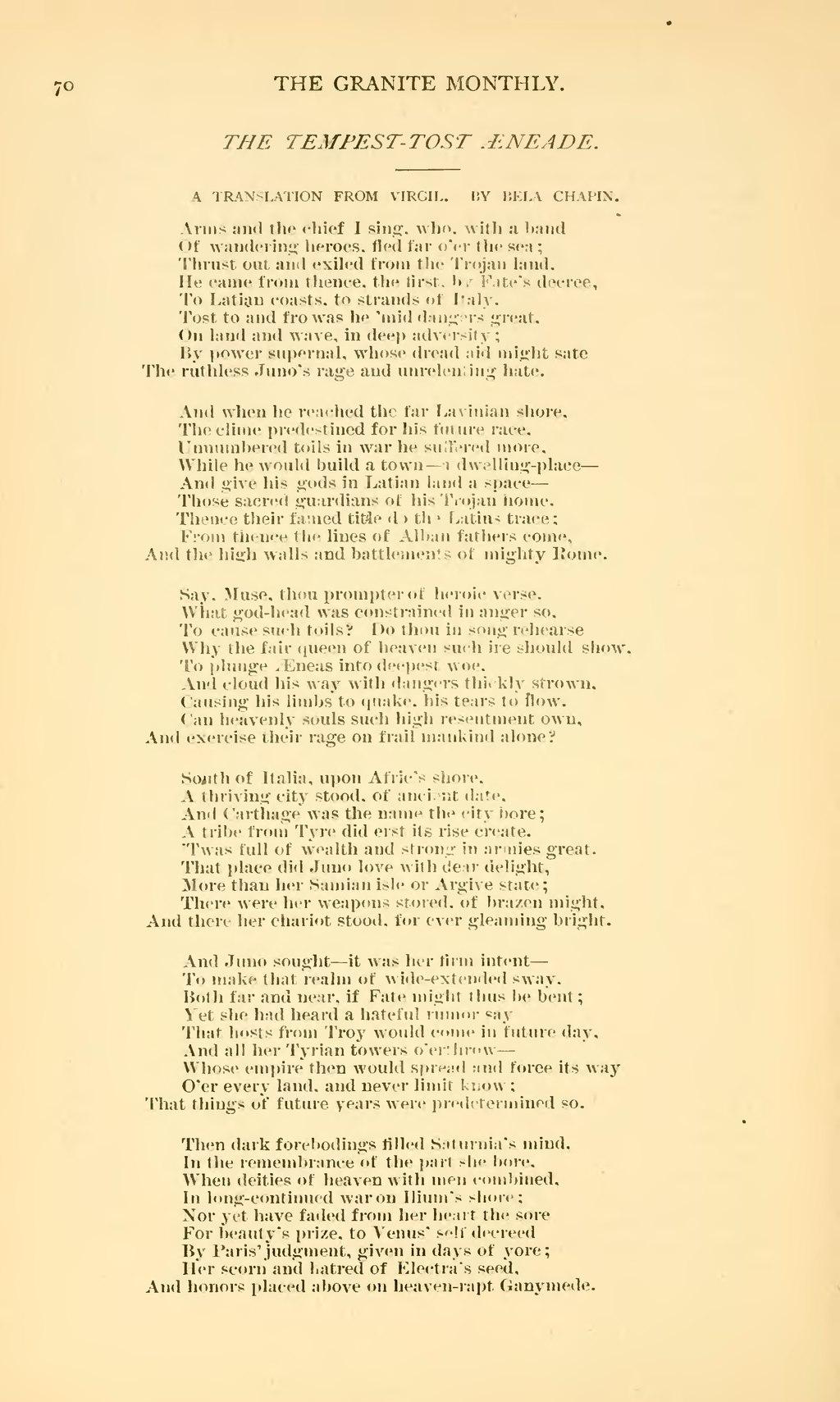 Page The Granite Monthly Volume 6 Djvu 86