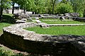 The Great Bath-House located in front of the Fort, built around 130 AD at the same time of the Cohort Fort, Saalburg Roman Fort, Limes Germanicus, Germania (Germany) (34769315625).jpg