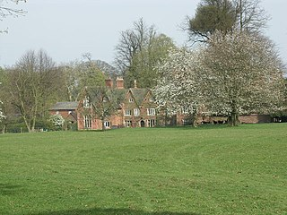 Bosworth Hall (Husbands Bosworth) historic country house at Husbands Bosworth, Harborough, Leicestershire, U.K.
