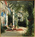 The Interior of the Palm House on the Pfaueninsel near Potsdam, 1834, by Carl Blechen - Art Institute of Chicago - DSC09556.JPG