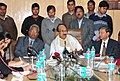 The Minister of State (Independent Charge) for Consumer Affairs, Food and Public Distribution, Professor K.V. Thomas briefing the media, in New Delhi on February 14, 2012.jpg