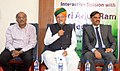The Minister of State for Finance and Corporate Affairs, Shri Arjun Ram Meghwal addressing the bankers and stake holders during a discussion on Education Loan Disbursal by Public Sector Banks, in Chennai on February 17, 2017.jpg