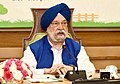 The Minister of State for Housing & Urban Affairs, Civil Aviation (Independent Charge) and Commerce & Industry, Shri Hardeep Singh Puri addressing at a Webinar in New Delhi on October 02, 2020.jpg