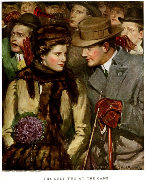 The Only Two at the Game by Clarence F Underwood