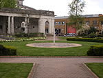 The Peace Garden - May Peace Prevail on Earth - Doric loggia moved from Broad Street - colonnade (3626091743).jpg