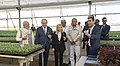 The Prime Minister, Shri Narendra Modi and the Prime Minister of Israel, Mr. Benjamin Netanyahu, at the Centre of Excellence for Vegetables, at Vadrad, in Gujarat on January 17, 2018 (5).jpg