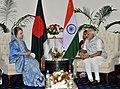 The Prime Minister, Shri Narendra Modi meeting the Former Prime Minister of Bangladesh, Begum Khaleda Zia, in Dhaka, Bangladesh on June 07, 2015 (1).jpg