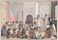 The Red Lake Chief making a speech to the Governor of Red River at Fort Douglas.png