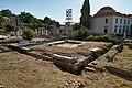 The Roman latrines (latrinae) in the Roman Agora of Athens on July 15, 2020.jpg