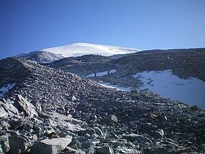 Haba Snow Mountain - Image: The Snow Slope of Haba Mountain