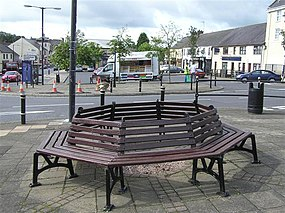 The Square, Stewartstown - geograph.org.uk - 1412965.jpg
