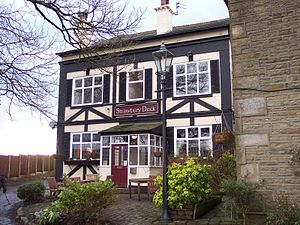 Entwistle, Lancashire - Image: The Strawbury Duck at Entwistle (geograph 2270773)