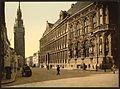 The belfry and Hotel de ville, Ghent, Belgium-LCCN2001697935.jpg