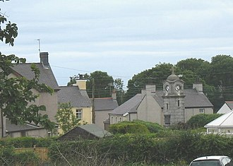 Gwalchmai, Anglesey - Image: The centre of Lower Gwalchmai village geograph.org.uk 995034
