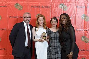 Best Kept Secret (film) - Simon Kilmurry, Samantha Buck, Danielle DiGiacomo and Janet Mino at the 73rd Annual Peabody Awards for POV: Best Kept Secret.