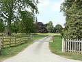 The drive to Holme Pierrepont Hall - geograph.org.uk - 1385927.jpg