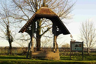 Achurch - Image: The elaborate cover for the village well geograph.org.uk 320172