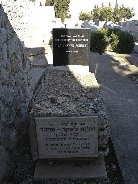 File:The grave of Else Lasker-Schüler - 1.jpg