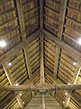 The newly refurbished roof timbers at St James, Clanfield - geograph.org.uk - 1498375.jpg