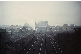 Ashington - the railways at Ashington