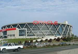 Die damalige Oracle Arena (2007)
