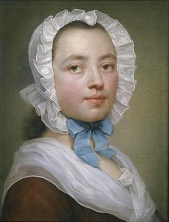 Therese Maron - Self-portrait, 1745