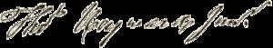 Thomas Heyward Jr. - Image: Thomas Heyward signature