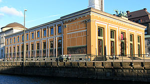 Michael Gottlieb Bindesbøll - Thorvaldsens Museum on Slotsholmen in Copenhagen