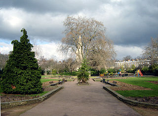 Barnsbury area of north London, England