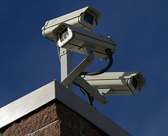 Surveillance - Surveillance cameras such as these are installed by the millions in many countries, and are nowadays monitored by automated computer programs instead of humans.