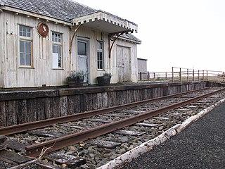 Thrumster railway station railway station in Highland, Scotland, UK