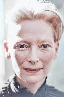 Tilda Swinton Scottish actress
