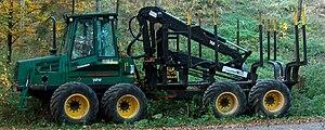 Timberjack - Forwarder Timberjack 1110D